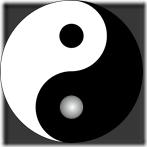 Yin-Yang : un mélange de féminin et de masculin.